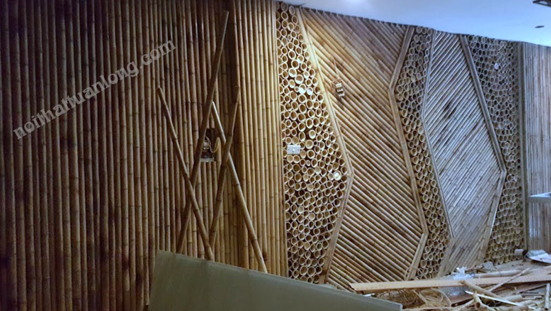 ỐP tường tre trúc 1